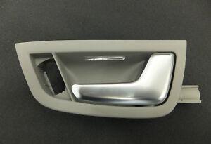 Audi-A8-S8-4E-D3-Tuergriff-Griff-Innen-Platin-hell-vorne-hinten-rechts-4E0837020