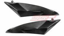 2006 2007 Yamaha R6 Under Fuel Tank Side Panel Cover Fairings Twill Carbon Fiber