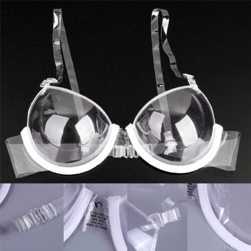 Transparent push up Bra sangle invisible soutiens-gorge fem ITHWC