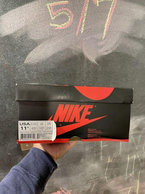 Nike Air Jordan 1 Retro Athletic Shoe for Men, Size 11.5M - Gym Red/Summit White/Black