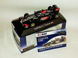 Corgi-Lotus-F1-Race-Car-2013-E21-Kimi-Raikkonen-7-Edicion-Especial-1-43-Nuevo-Y-En-Caja