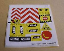 LEGO Aufkleber Sticker 60076 ( Bogen 19485 6099795 City Stadt ) Neu