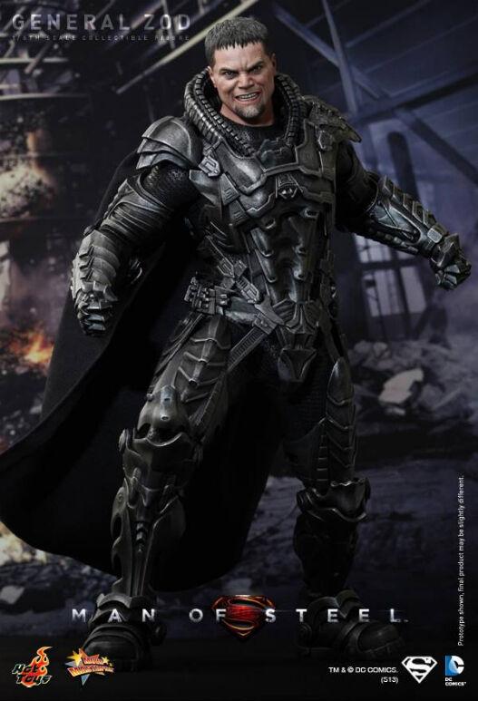 Hot Toys Generale Zod-Superman Uomo d'Acciaio MMS216 ** UK **