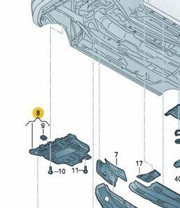 VW Geräuschdämpfung Einbausatz 1x 3Q0825236D 3x WHT000729A 8x N90974701