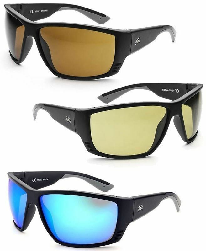 New Fortis Eyewear Vista Sunglasses All Available Brown, Amber, bluee XBlok