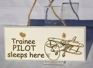 Children-039-s-Room-Door-and-Wall-Plaque-Aircraft-Train-Bus-Car