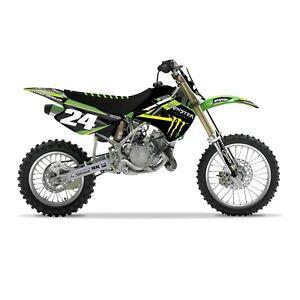 Monster-Energy-Kawasaki-AMA-FACTORY-GRAPHICS-KIT-KX-85-2001-2013-Motocross