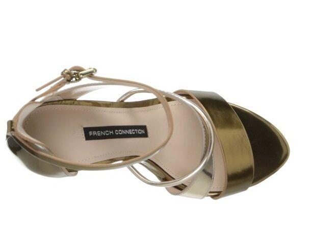 135 French Connection Wendi Wendi Wendi Sandals Gold Bronze Größe European 36   US 6 f590cd