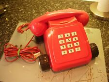 THE DIRECT LINE RED PHONE Home Telephone On Wheels