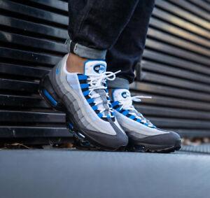 air max 95 bianche blu
