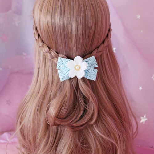 Kawaii japonais cheveux Accessoires Cheveux Pin BOW tassel ruban Mori Girl Princess