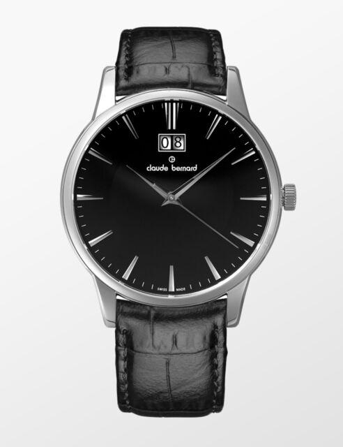 Sophisticated Bernard Men's Swiss Classics 63003 Edox nin Made Watch Claude By 3 N0w8mn
