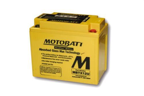 Motobatt batterie moto mbtx12u