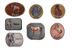 Horse-Embroidered-Personalised-Sew-on-Iron-on-Sticker-name-badge-patch
