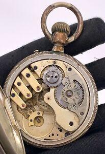 Paul-Boch-Geneve-28775-Main-Manuel-Vintage-54-mm-Pas-Fonctionne-pour-Pieces