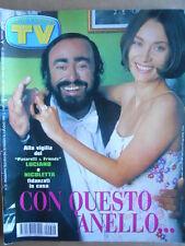 TV Sorrisi e Canzoni n°22 1999 Luciano Pavarotti  Skunk Anansie M. Pfeiffer[D36]