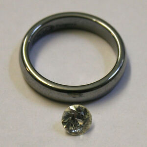 NATURAL-WHITE-SAPPHIRE-LOOSE-GEMSTONE-6MM-ROUND-1CT-FACETED-GEM-SA51K