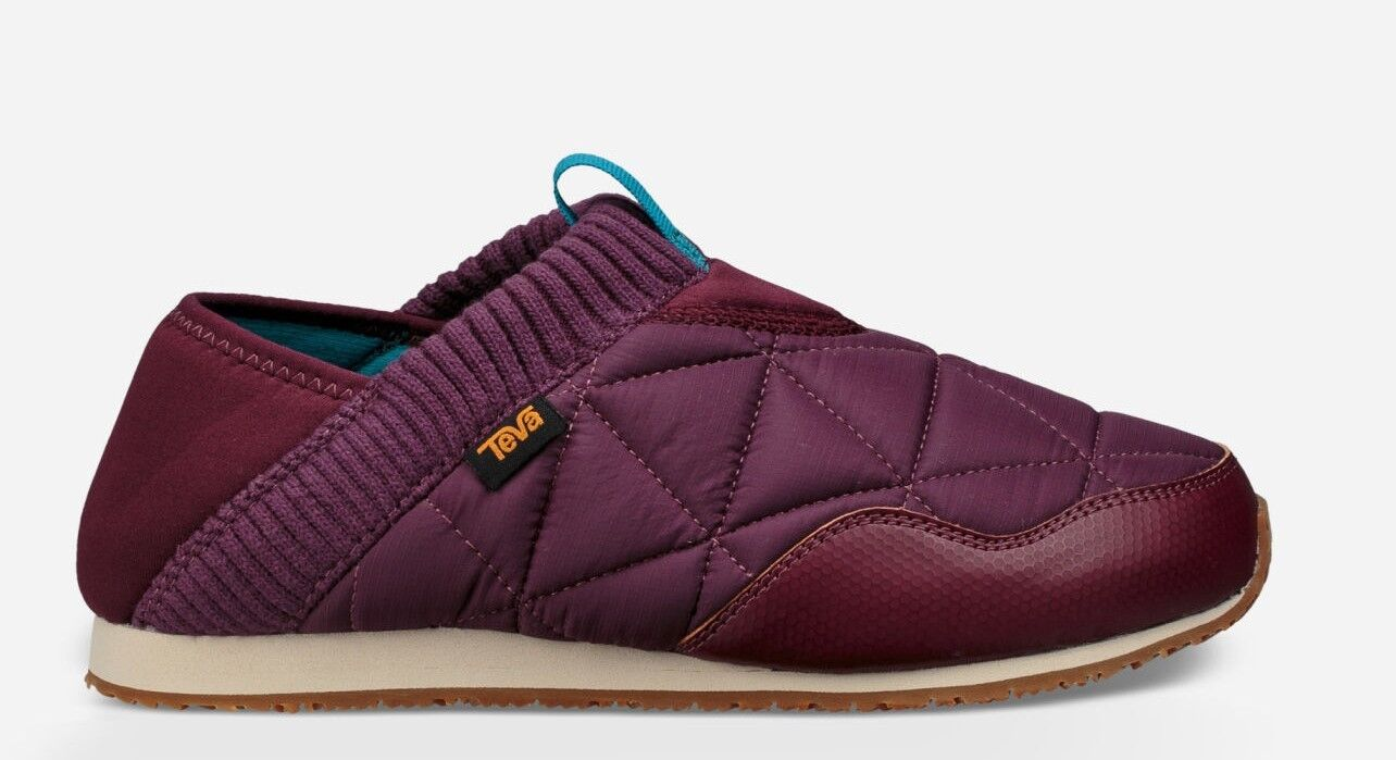 Teva  Womens Ember Moc shoes Trainer    Low-Top Slippers, Purple Fig,