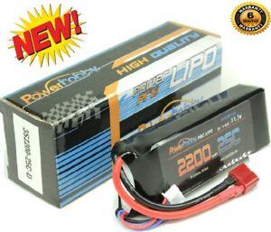 Powerhobby-3S-11-1V-2200mAh-25C-Lipo-Akku-Pack-w-Deans-Plug