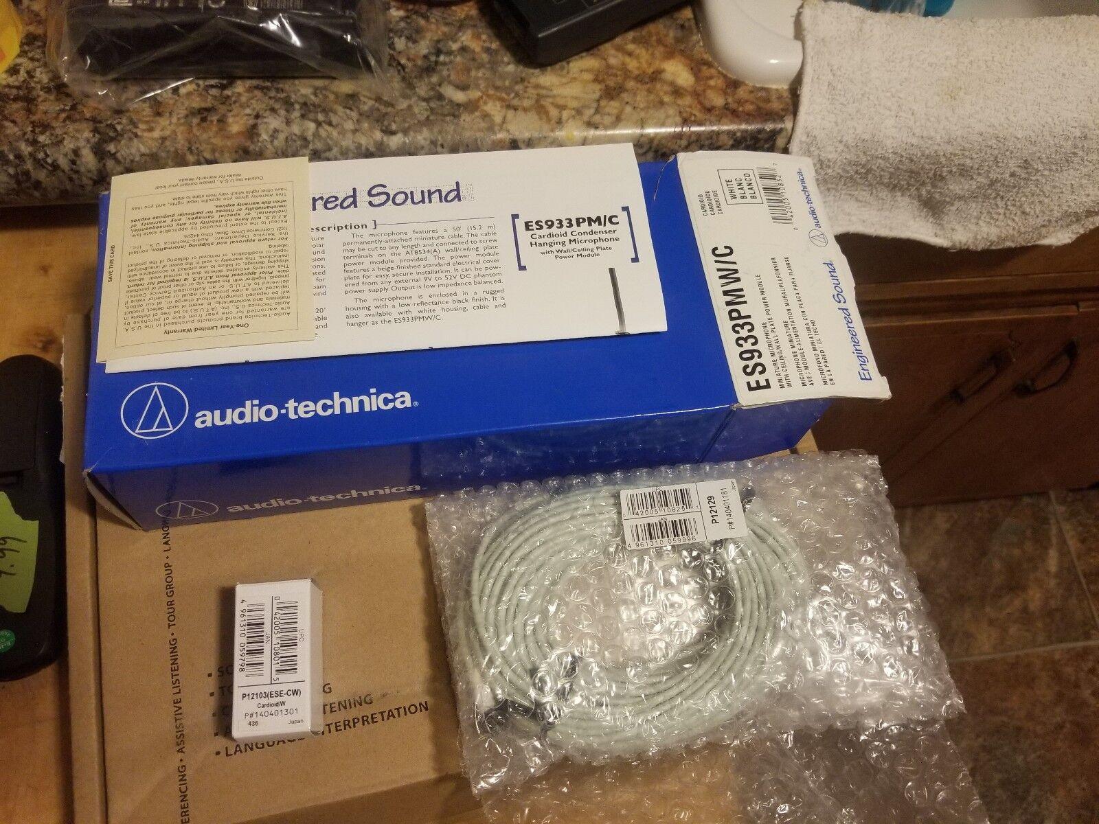 Audio Technica Hanging Microphone ES933PM C Cardioid Condenser