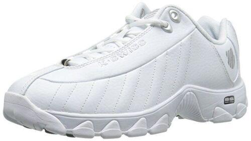 Extra Wide Men K-Swiss ST329 CMF Training 03426129 White Black 100/% Original New