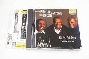 OSCAR PETERSON RAY BROWN MILT JACKSON THE VERY TALL BAND CD A12944