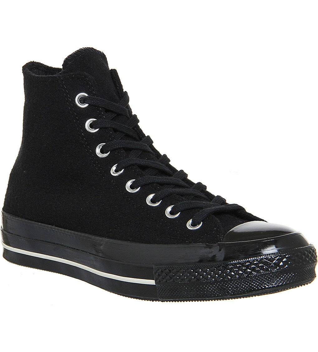 Converse Chuck Taylor All Star 70 velours côtelé Baskets Montants 153985C nero