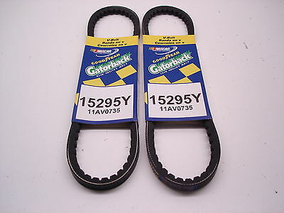 "2 NEW NASCAR GOODYEAR 29.5/"" V BELT PULLEY BELTS ALTERNATOR POWER STEERING 15295Y"