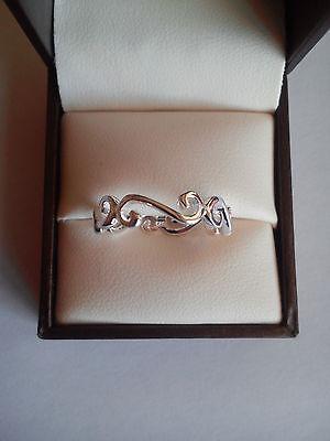 celtic filigree celtic ring thumb finger sterling silver 925 various sizes