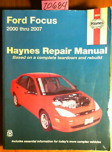 haynes 36034 ford focus haynes repair manual