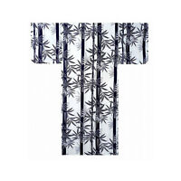Authentic Japanese Samurai Yukata / Fresh & Cool Kimono: Bamboo 766 (au)