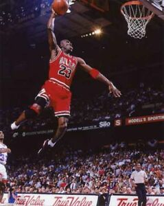 Image Is Loading MICHAEL JORDAN CHICAGO BULLS SLAM DUNK 11 X
