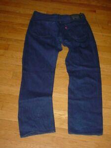 db75b9cf8d6 Levi's 501 Shrink To Fit Jeans Cobalt-Blue/black-trim 05011-662 Men ...