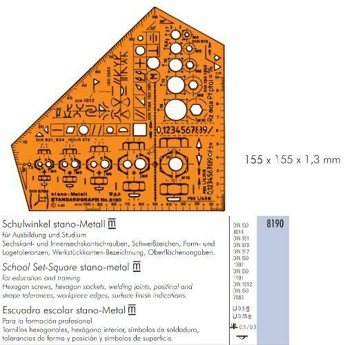 Schneiderlineal Ko-I-Nor Kurvenschablone 3-teilig Kurvenlineal,Kurvensatz
