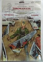 Sdcc 2015 Exclusive Kittredge Sanders Throwaways Poster 17 X 11