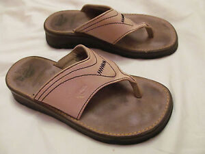 5cf9938cb302 DR MARTENS Tan nude leather thong sandals flip flop shoes UK 5 US 7 ...