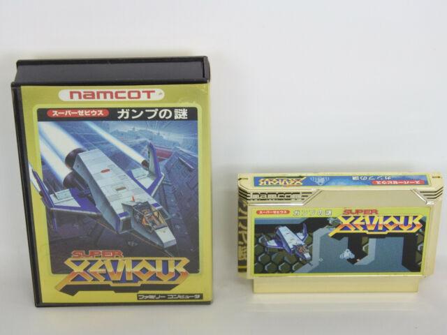Famicom SUPER XEVIOUS Gump No Nazo Nintendo No Instruction bbn fc