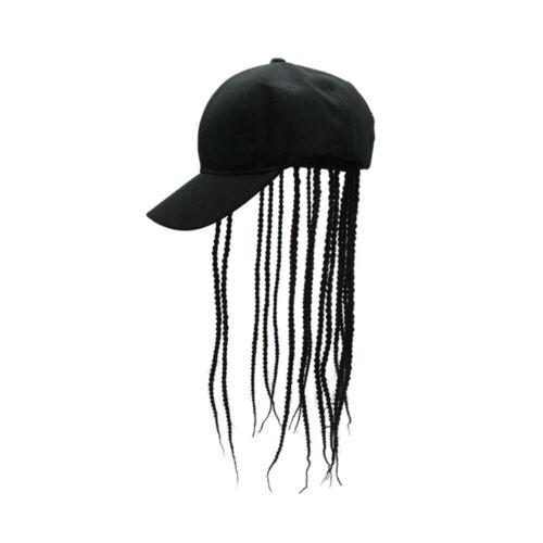 Unisex Wig Braid Hat Long Dreadlocks Wigs Sun Cap Halloween Party Cosplay Props