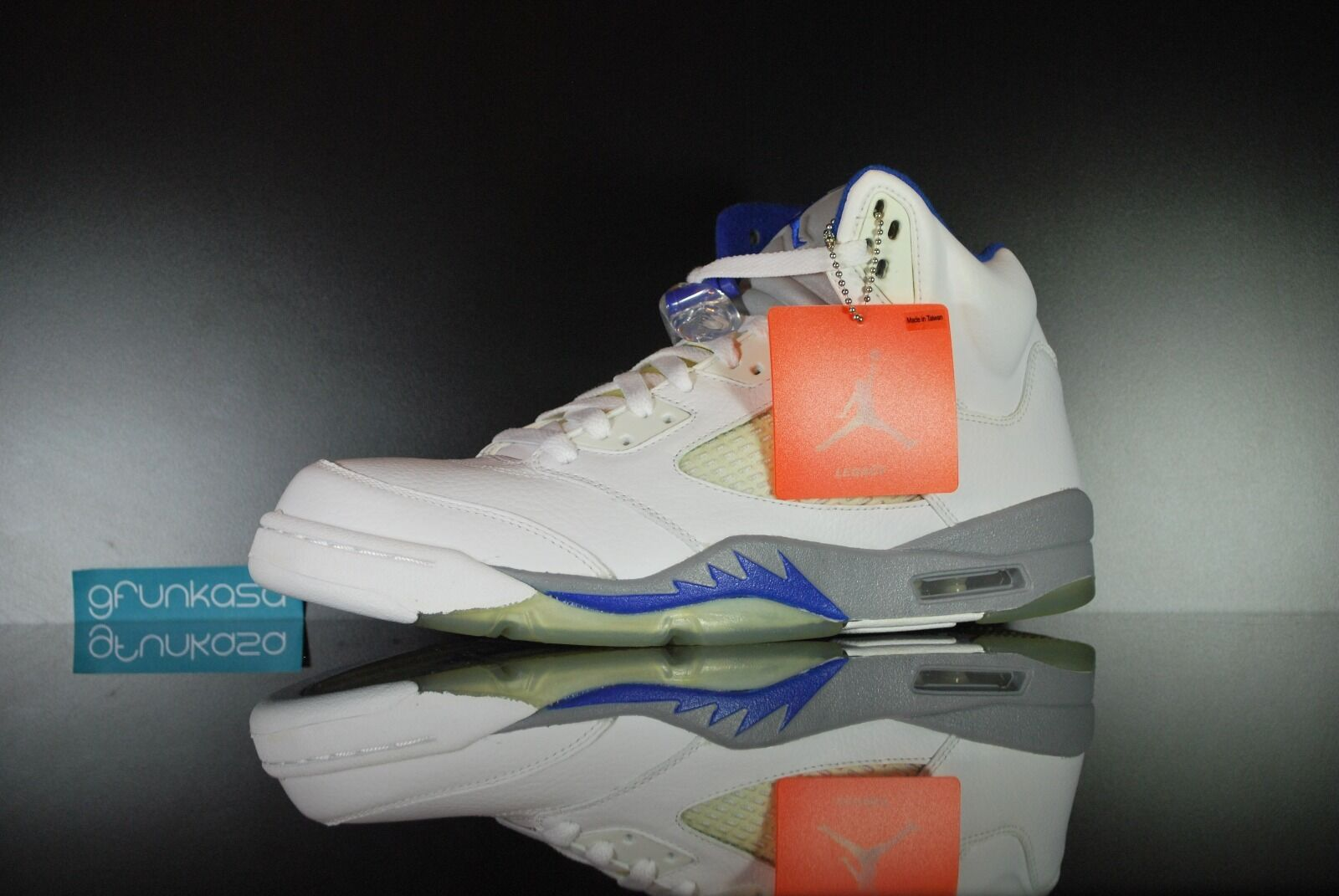 59b58171d4a ... coupon code 2018 nike air jordan 5 retro stealth size 11.5 ds v white  grey sport