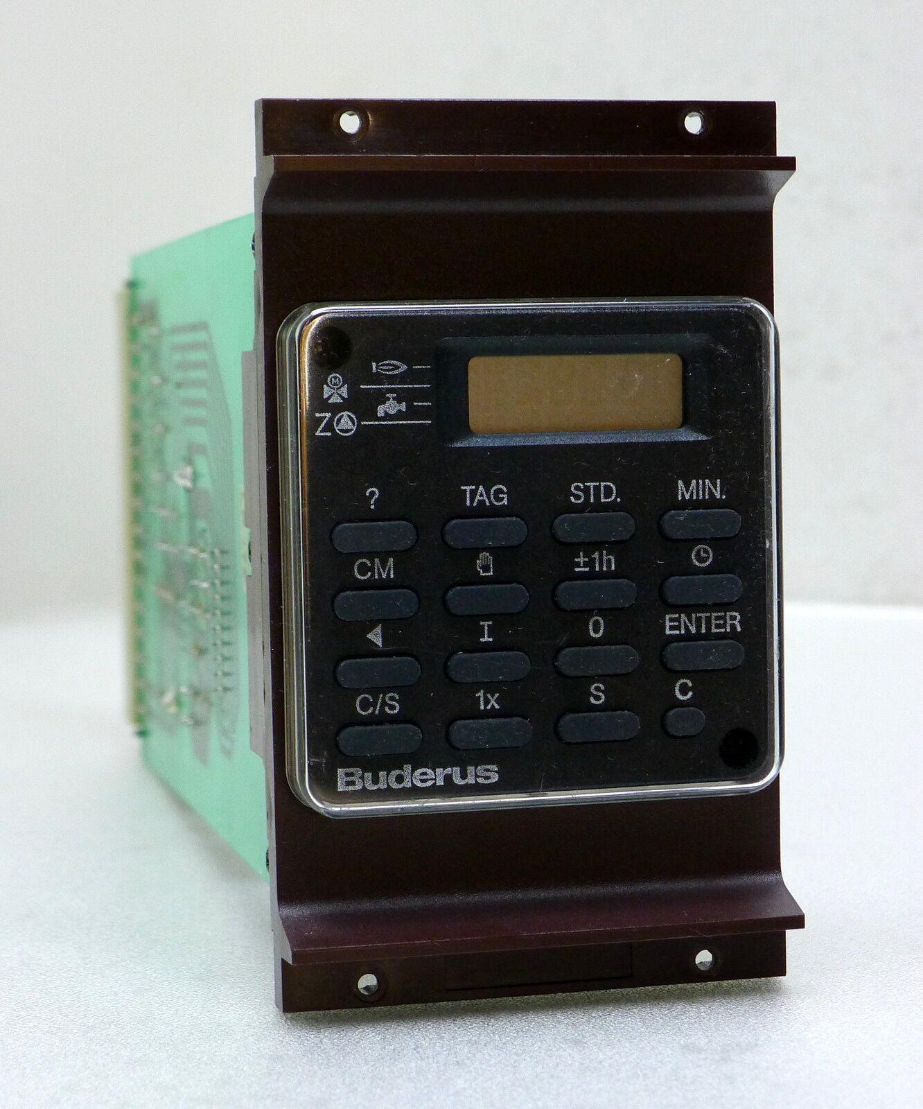 Buderus Schaltuhr Uhr Modul M007 LP176 HS3xxx Garantie Inzahlungnahme