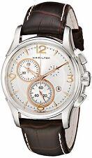 Hamilton Jazzmaster Chronograph Chrono Silver Dial Quartz Watch H32612555