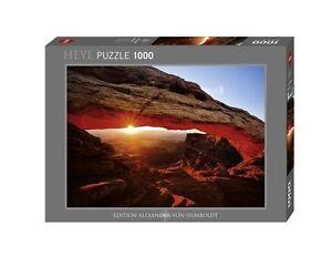 JIGSAW PUZZLE HY29594 - Heye Puzzles - 1000 Pc - Mesa Arch, Tomas Kaspar