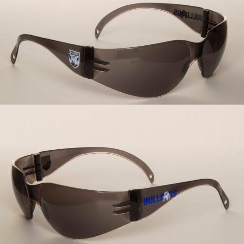 2 x Brisbane Broncos NRL Safety Eyewear UV Sunglasses Glasses Work Protect SMOKE