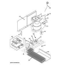 NEW OEM GE Monogram Refrigerator LEVELING LEG REAR WR01X10384