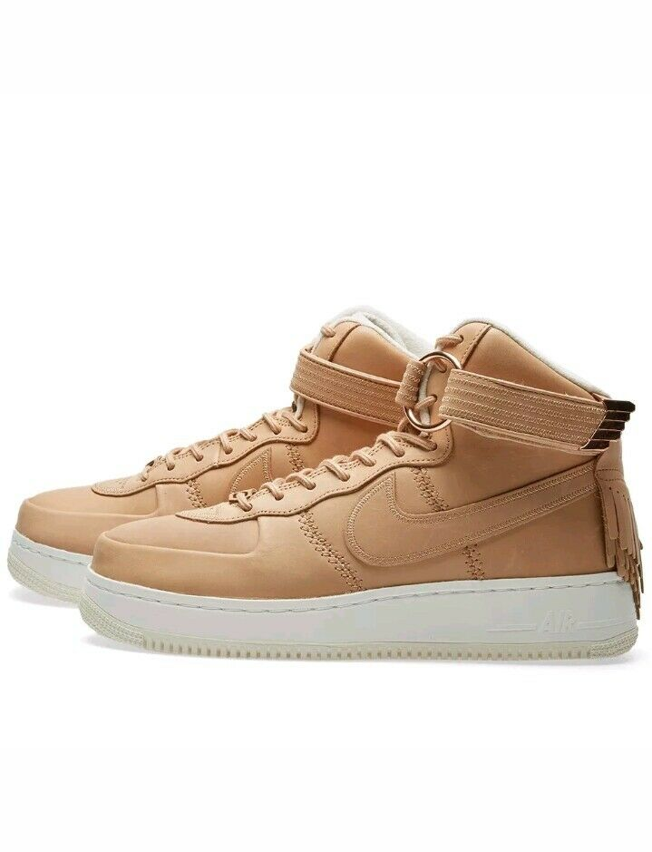 nike air force 1 hohe sl - all - tan star - 2017 vachetta tan - größe 11,5 (919473-200) db01f9