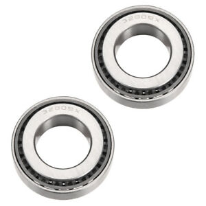 32005X Tapered Roller Bearing Cone Set, 25mm Bore 47mm OD 15mm Thickness 2PCS