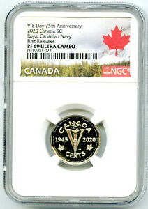 2020-CANADA-5-CENT-V-E-DAY-VE-DAY-NAVY-PROOF-NGC-PF69-UCAM-FIRST-RELEASE-NICKEL