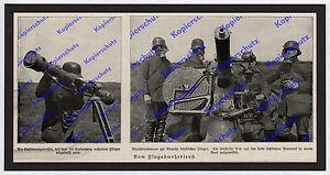 Entfernungsmesser Für Gewehre : Foto landser flak flugabwehr mg kanone stahlhelm gasmaske