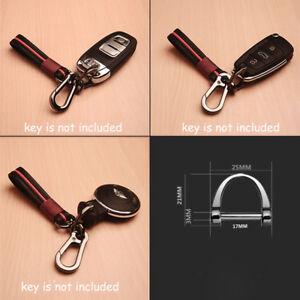 02775bbe8b2 Universal No Logo Car Auto Keychain Keyring Key Chain For Audi Ford ...