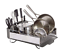 Brand New Free Shipping KitchenAid® Full Size Dish Rack in Light Grey